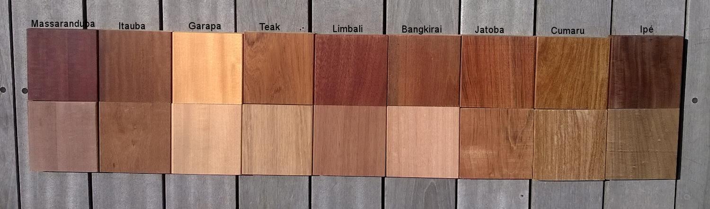 Hårdttræ sorter – Bordben jern